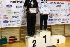 Mistrzostwa Polski Sztuk Walki Federacji WKSF i UFR, Mińsk Mazowiecki, 12.01.2019